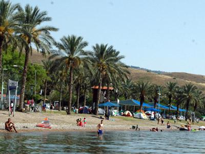 חוף חלוקים כורסי לבנון